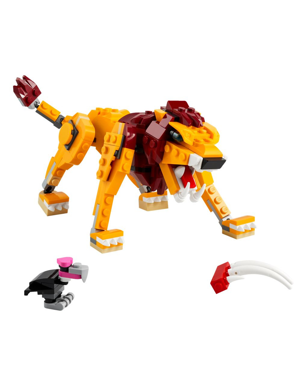 Lego creator - leone selvatico - 31112 - LEGO