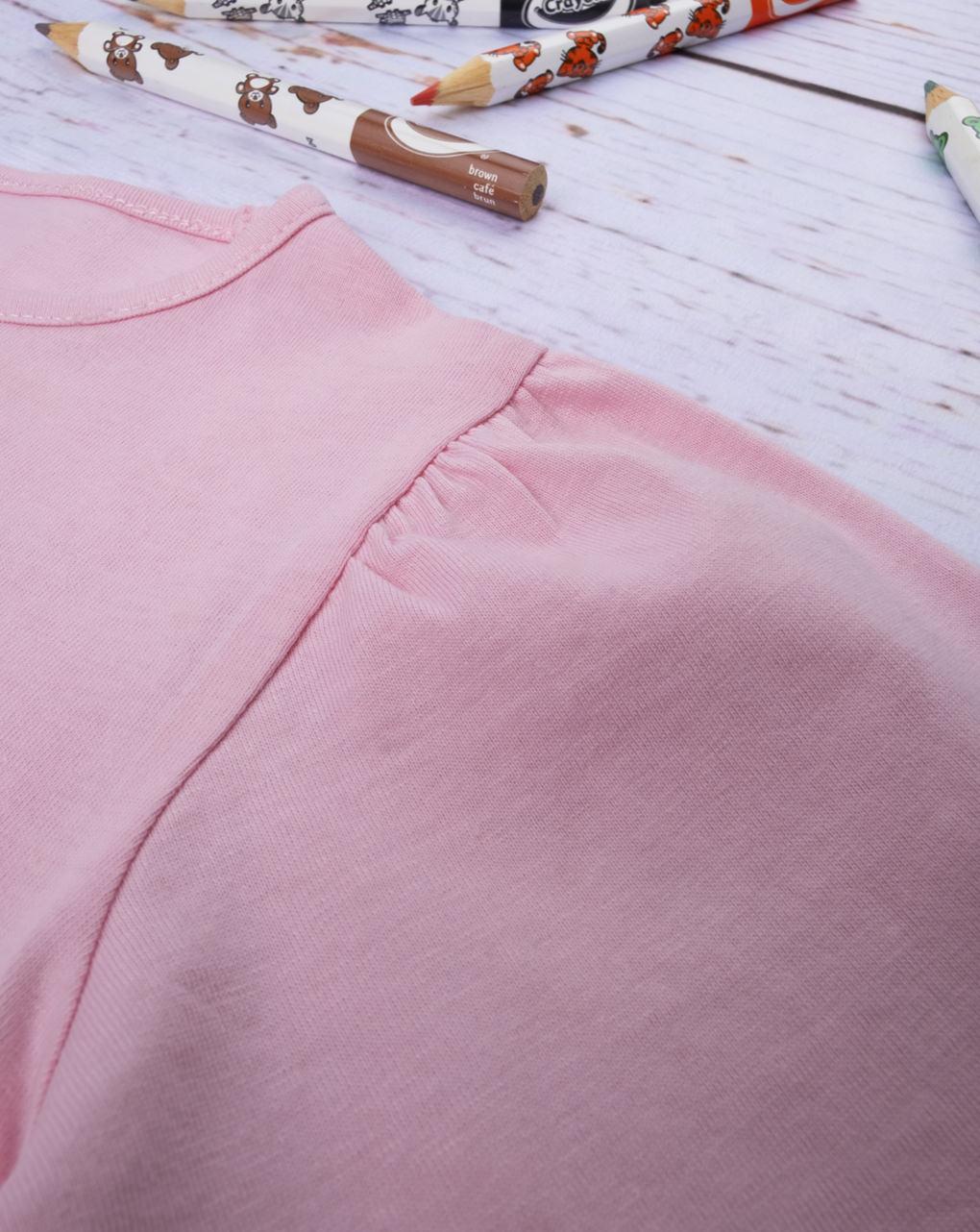 """T-shirt girl """"pink"""" - Prénatal"""
