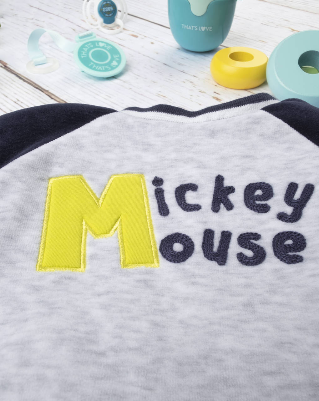 "Giubbino in ciniglia boy ""mickey mouse"" - Prénatal"