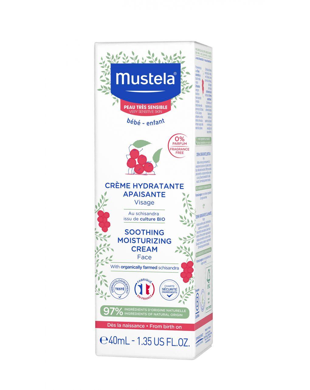 Crema viso lenitiva 40ml - Mustela