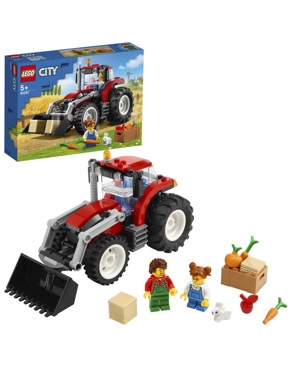 Lego city great vehicles - trattore - 60287 - LEGO