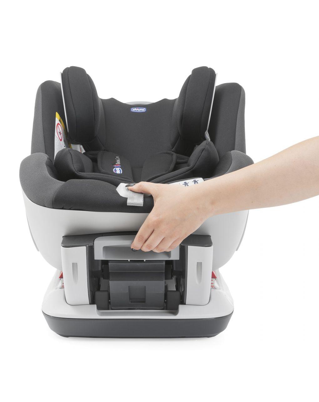 Seggiolino seat up 012 con chicco bebècare jet black - Chicco