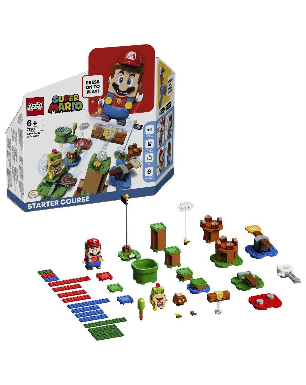 Lego super mario - avventure di mario - starter pack - 71360 - LEGO