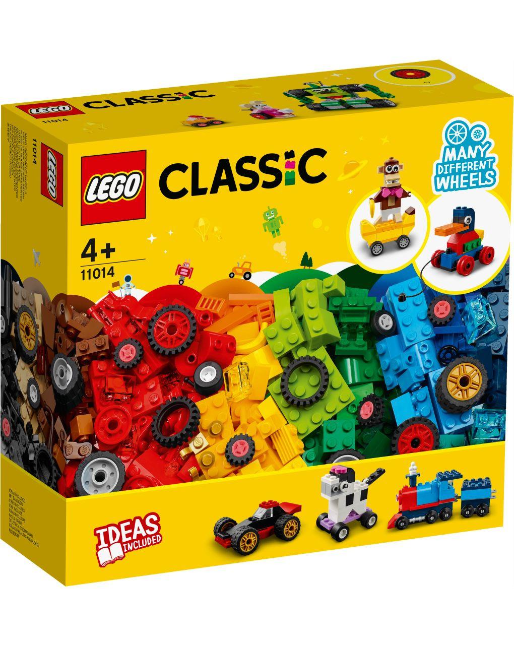 Lego classic - mattoncini e ruote - 11014 - LEGO