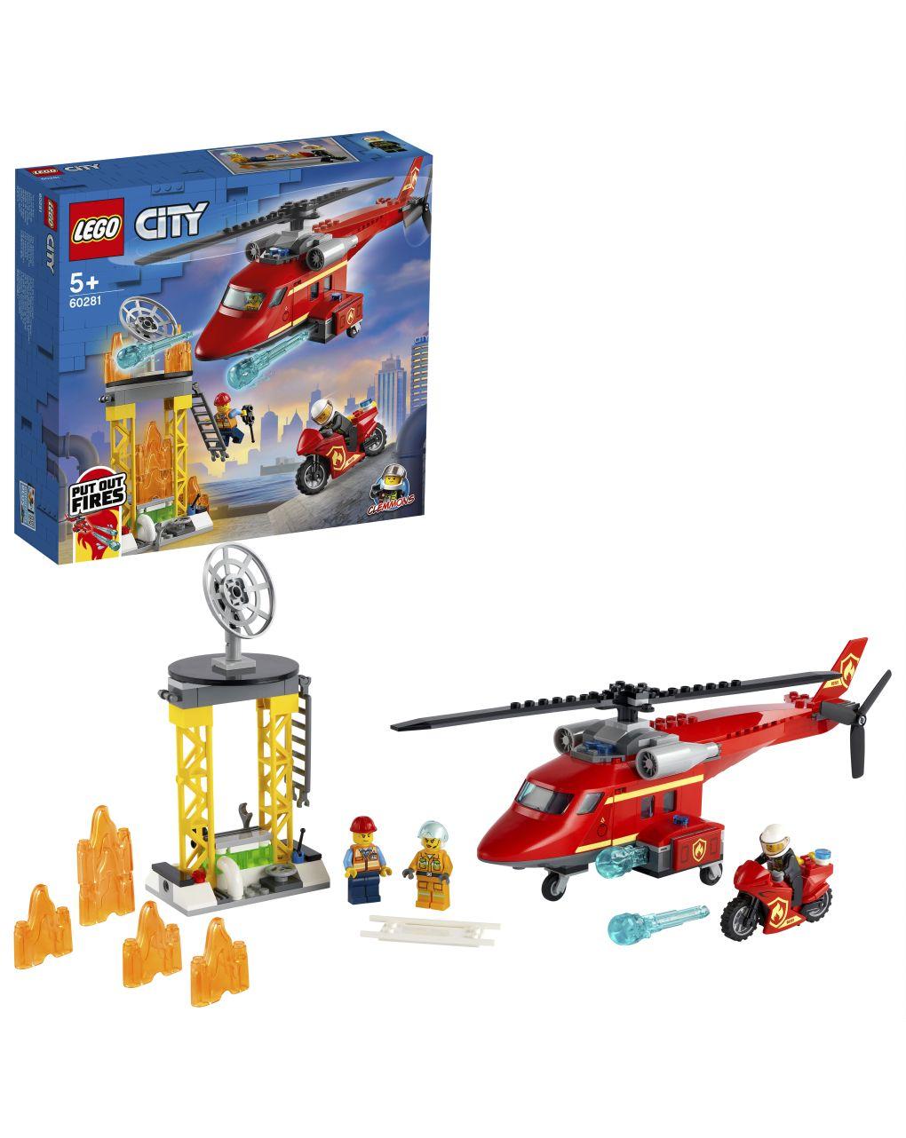 Lego city fire - elicottero antincendio - 60281 - LEGO