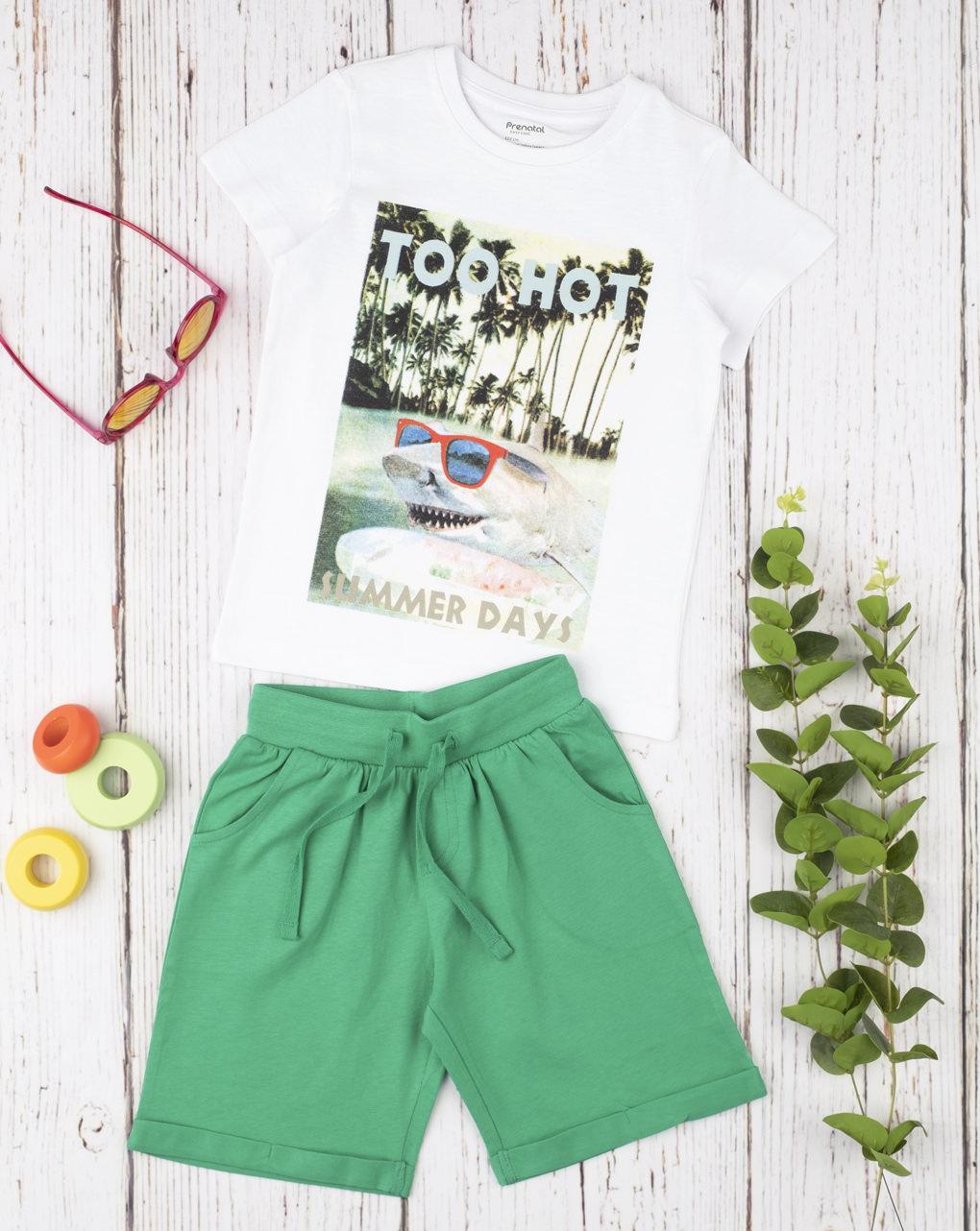 "Completo boy ""summer days"" - Prénatal"