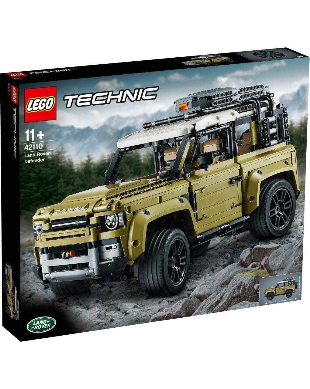 Lego technic - land rover defender - 42110 - LEGO