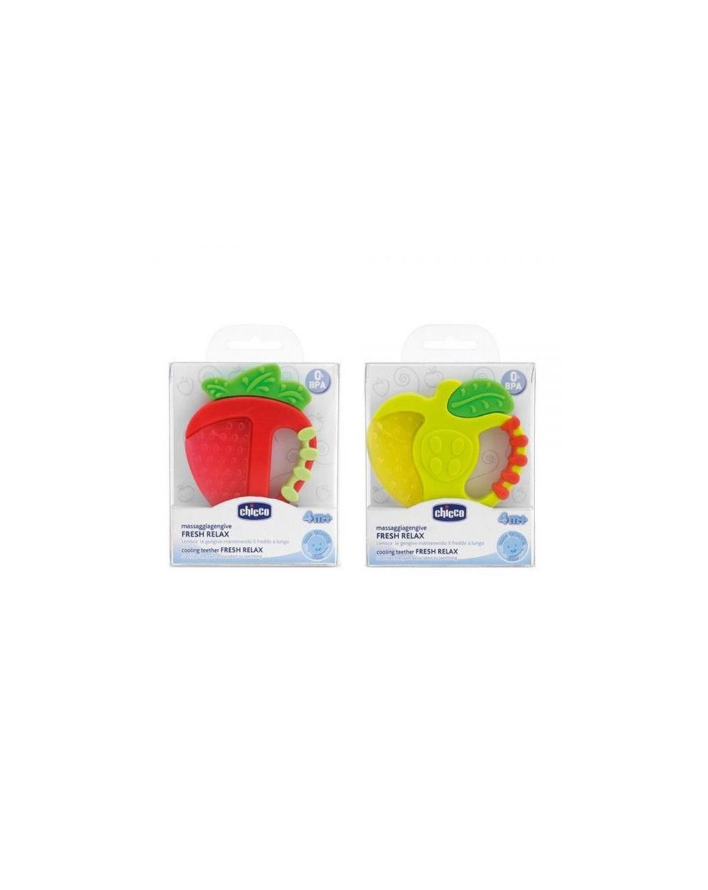 Massaggiagengive fresh relax frutta 4m+ - 1 pz - Chicco