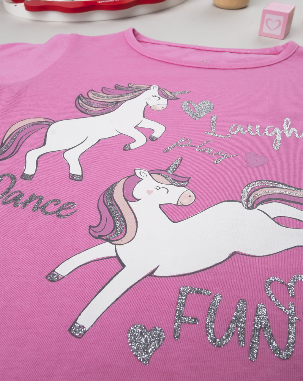 """Maglia girl """"unicorni"""" - Prénatal"""