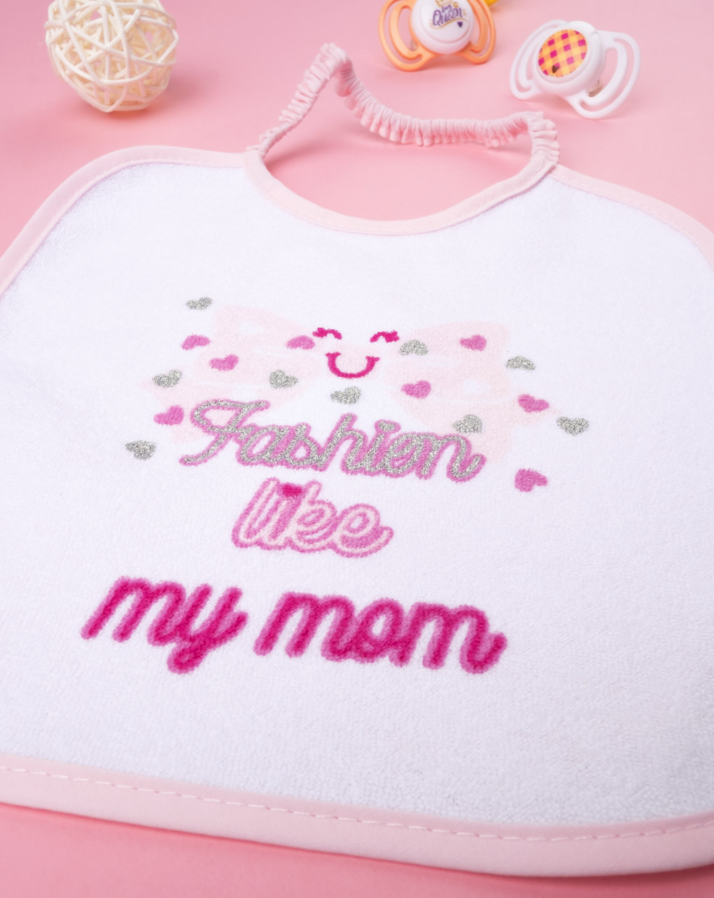 """Bavaglino girl """"fashion liky my mom"""" - Prénatal"""