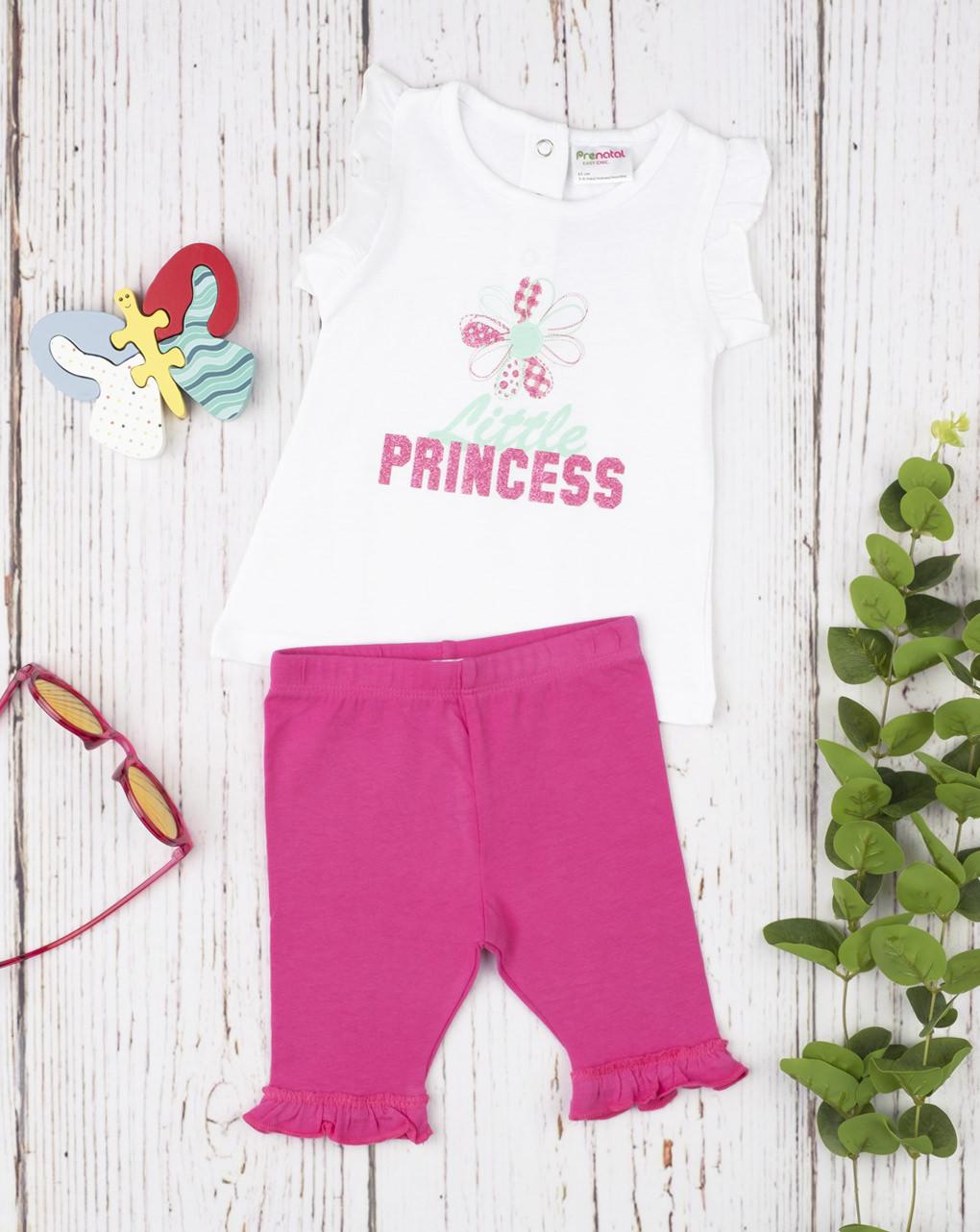 "Completo girl ""princess"" - Prénatal"