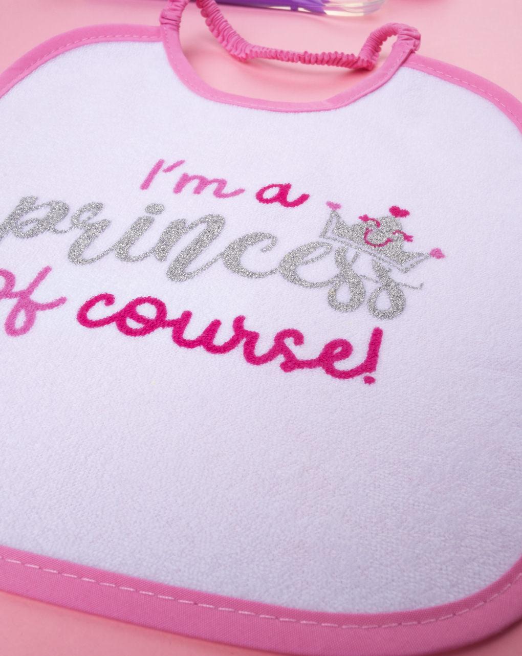 """Bavaglino girl """"i'm a princess of course"""" - Prénatal"""