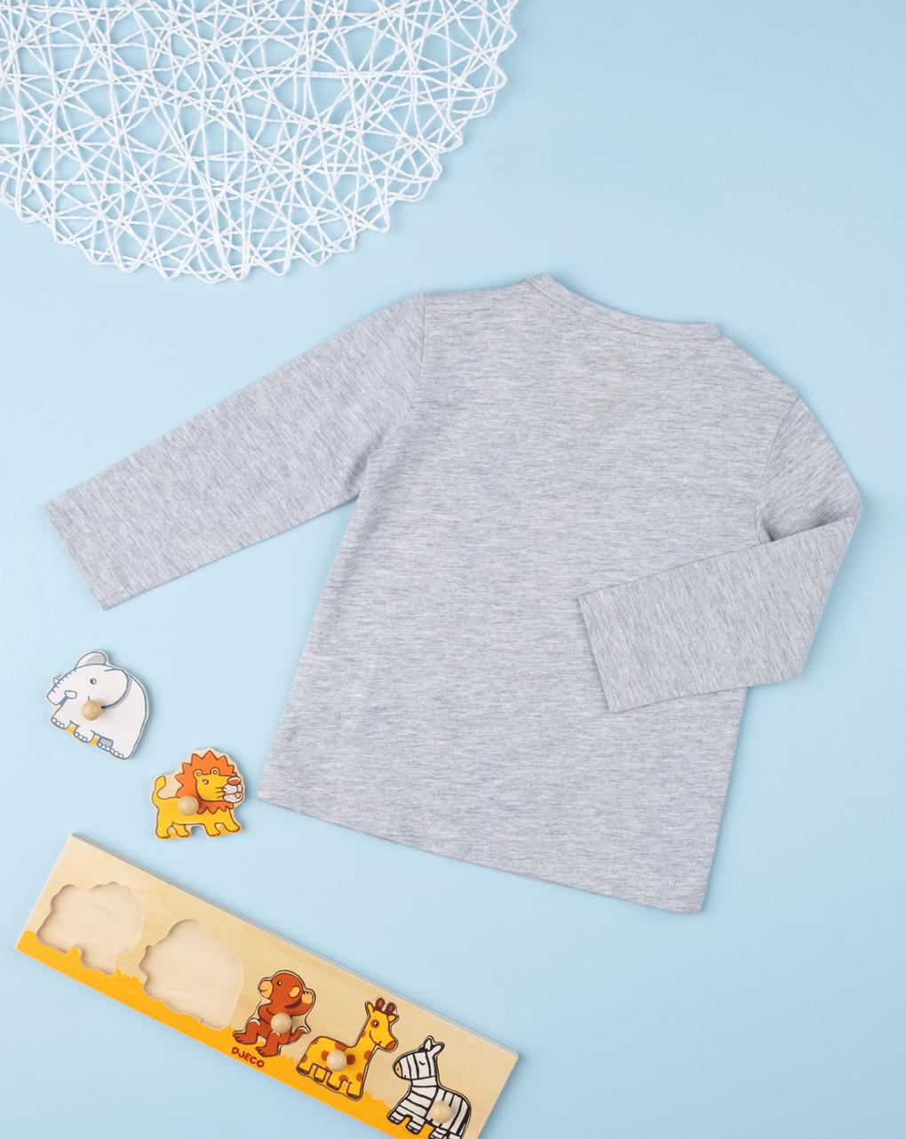 T-shirt boy grey - Prénatal