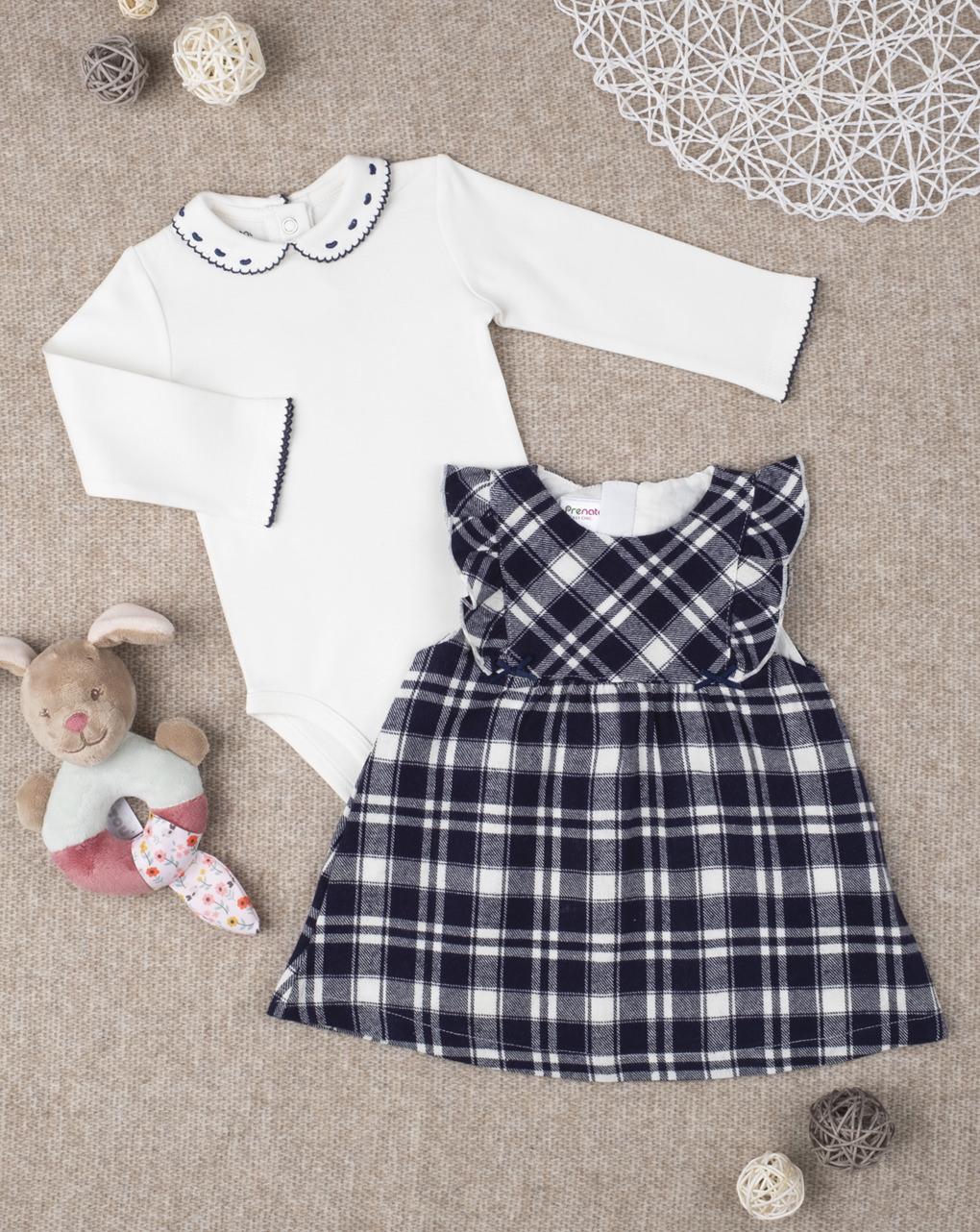 Completo girl abito & body - Prénatal