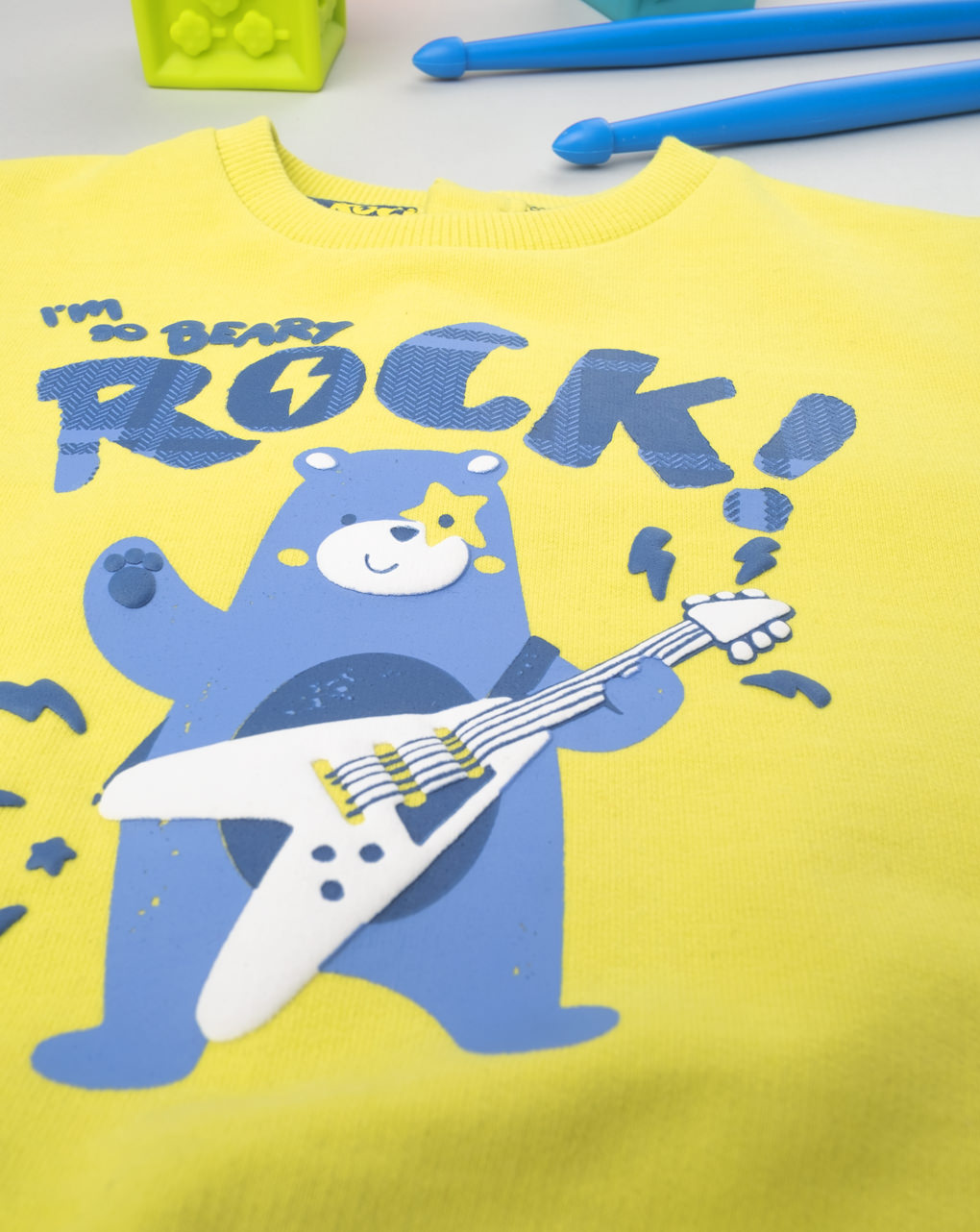 "Maglia boy ""rock vibe"" - Prénatal"