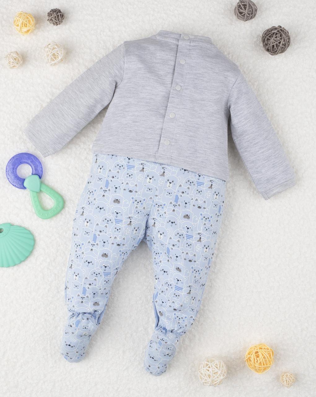Tutina boy bicolor - Prénatal