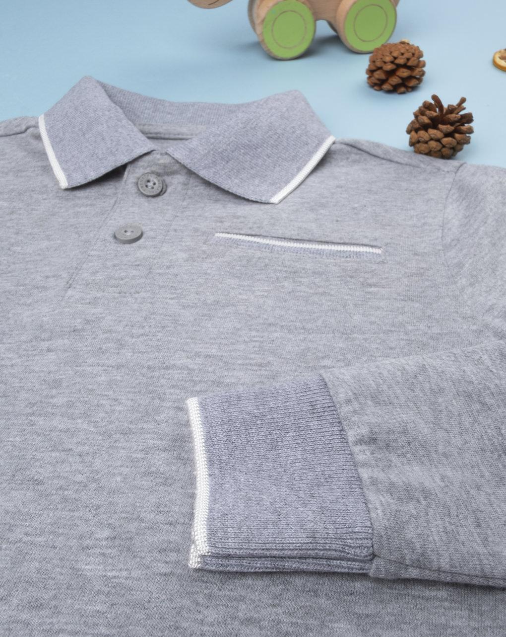 Polo boy grey - Prénatal