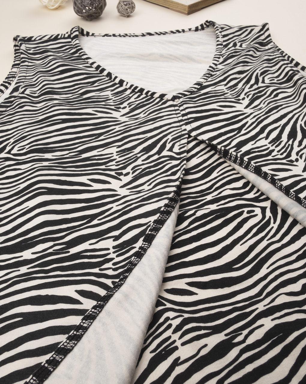 Canotta allattamento zebrata - Prénatal