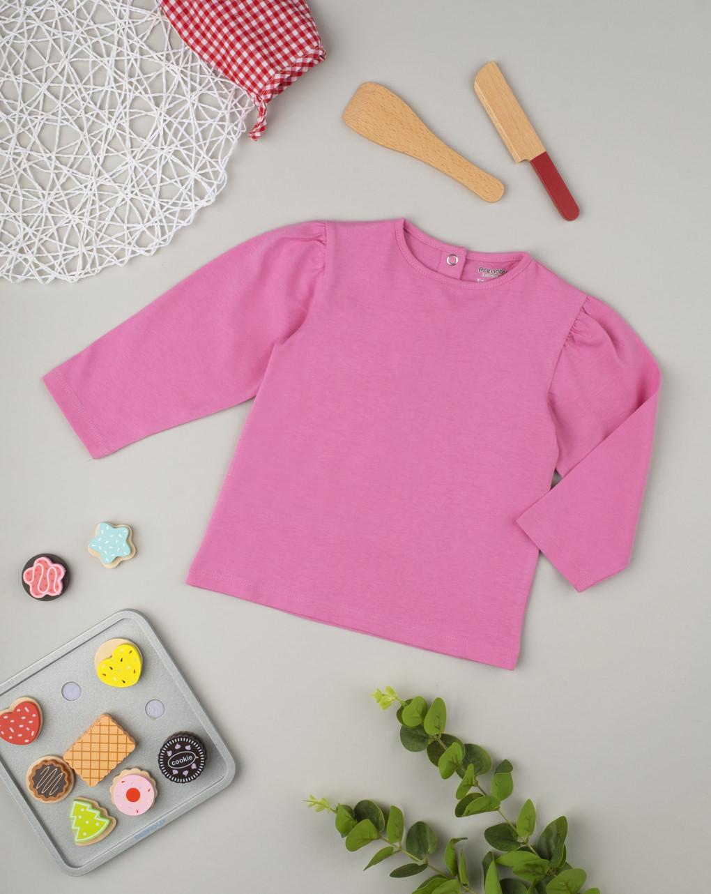 "Maglia girl ""pink"" - Prénatal"