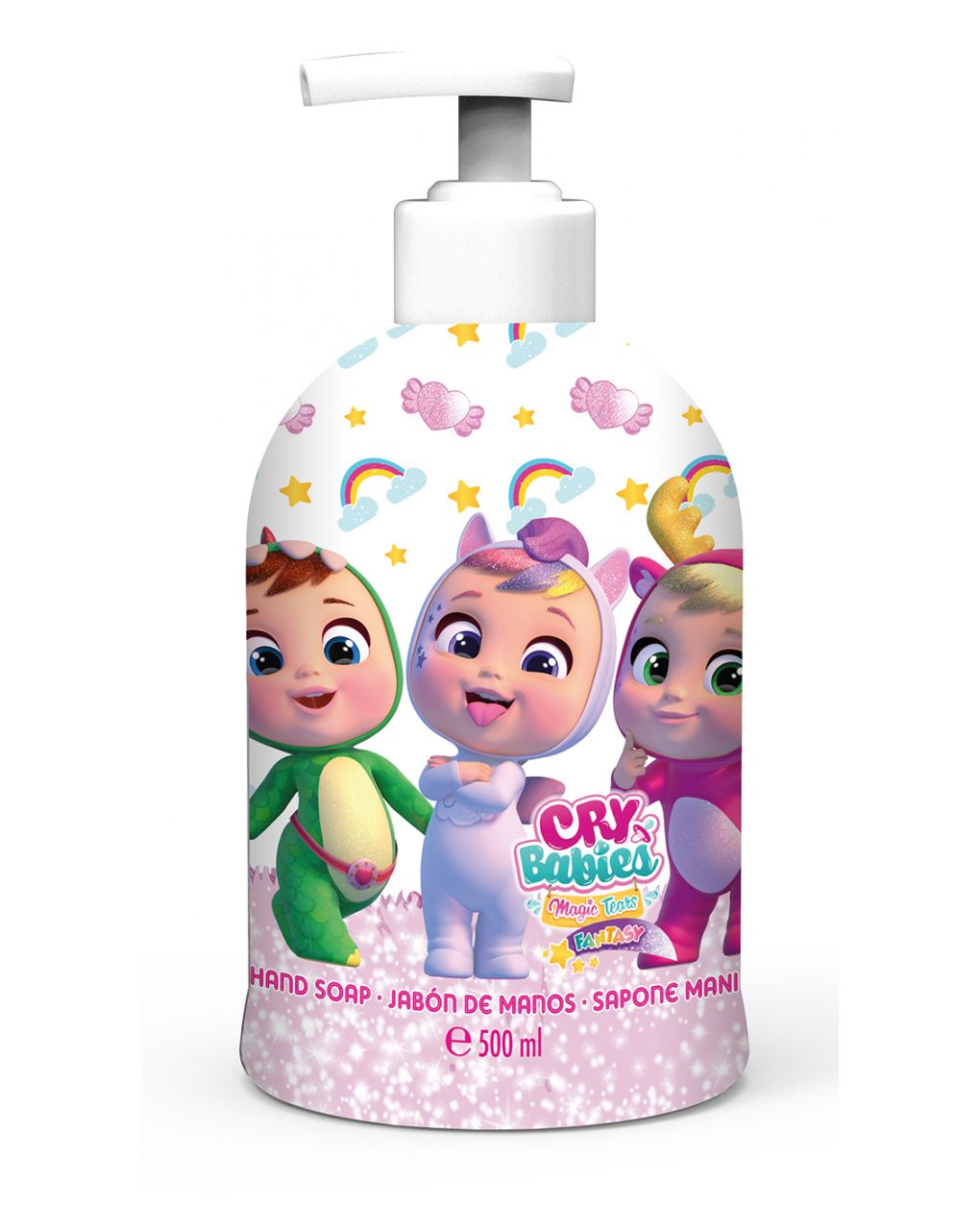 Air-val cry babies sapone mani 500ml - Cry babies