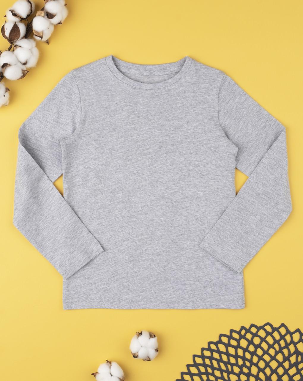 T-shirt tinta unita grey - Prénatal