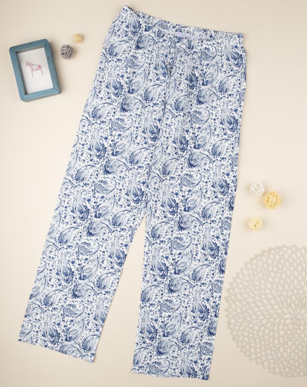 """Pantaloni pigiama """"blu sfumato"""" - Prénatal"""