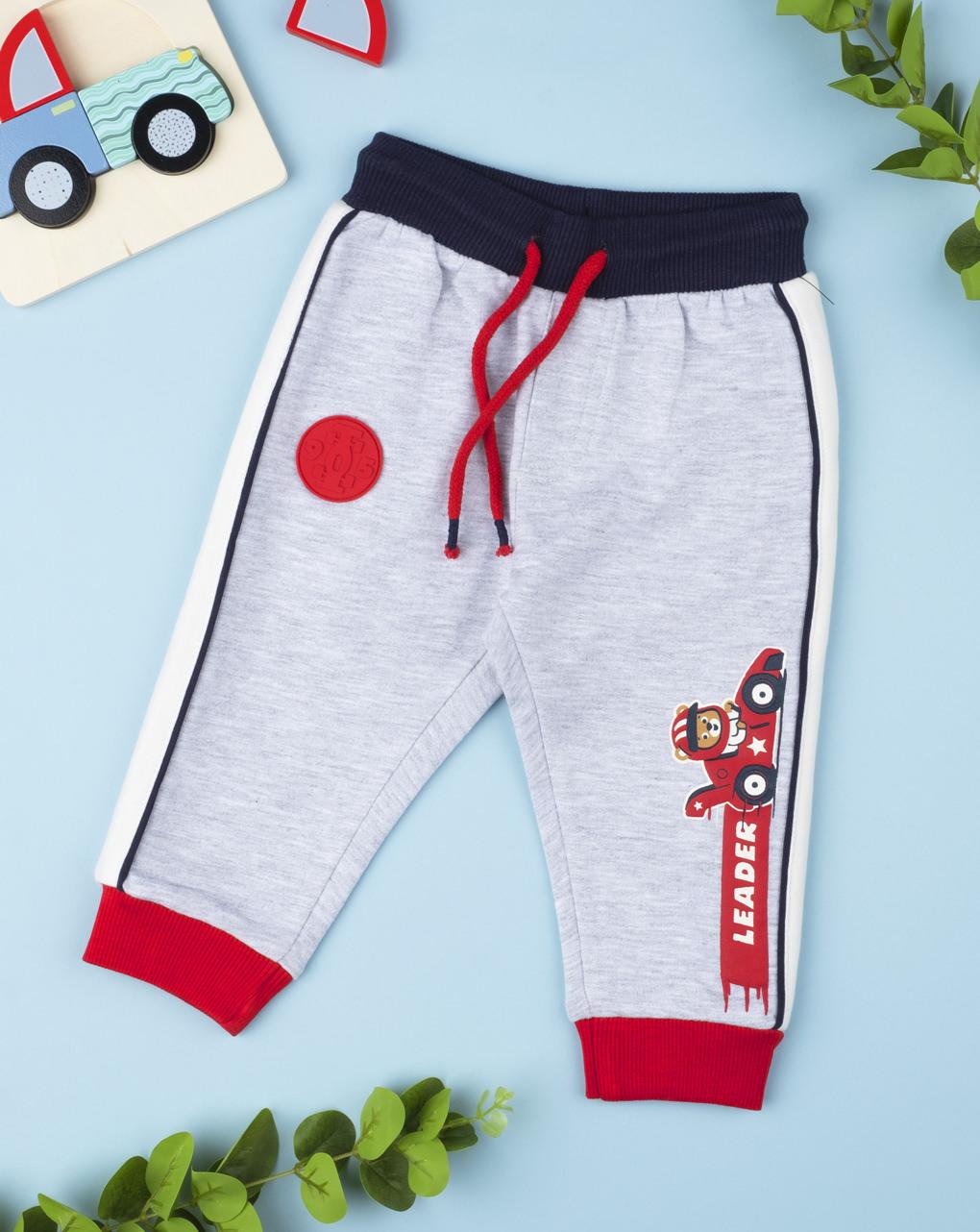 "Pantalone felpato ""formula uno"" - Prénatal"