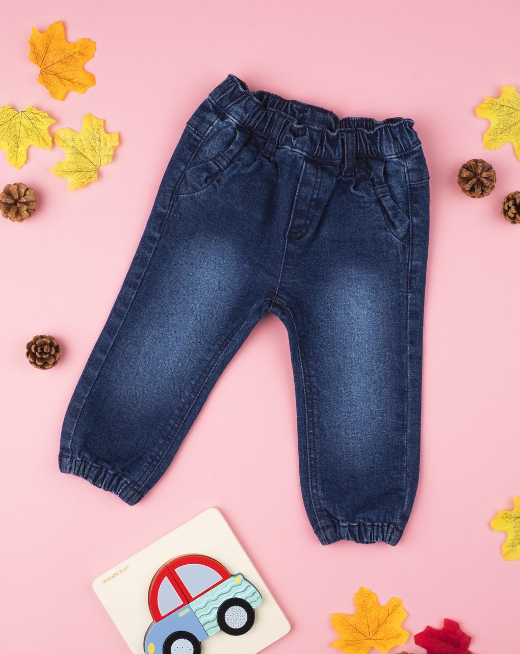 Jeans blu denim girl - Prénatal