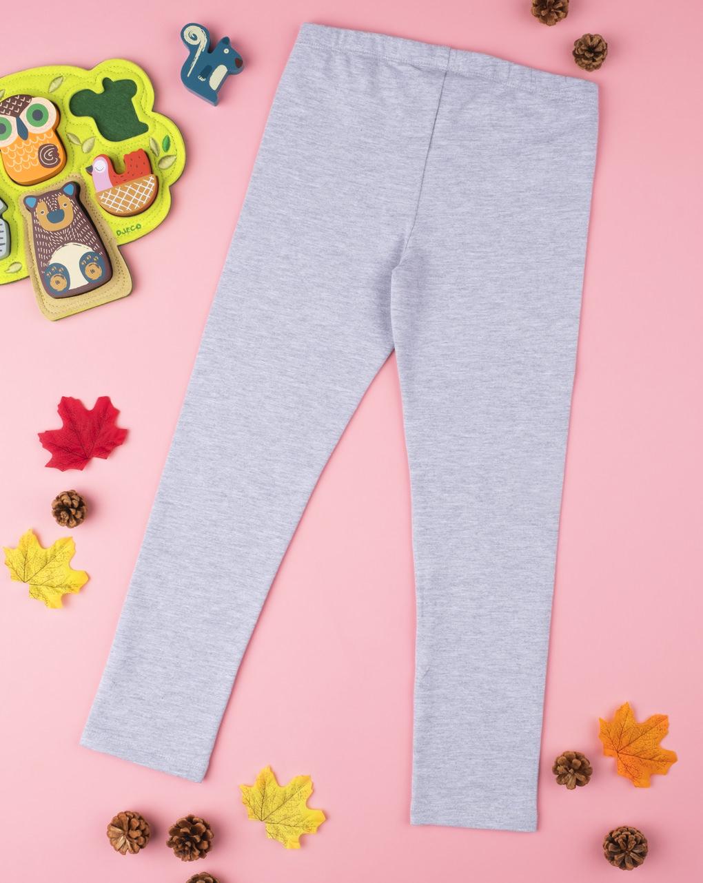 Legging grey con glitter - Prénatal