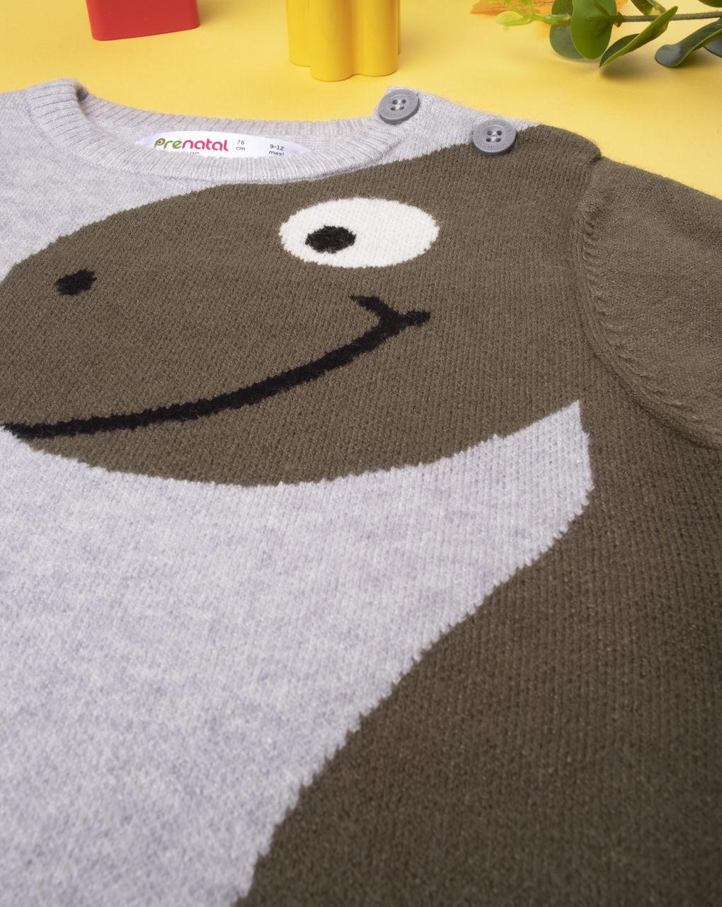 """Maglia tricot boy """"dinosauro"""" - Prénatal"""