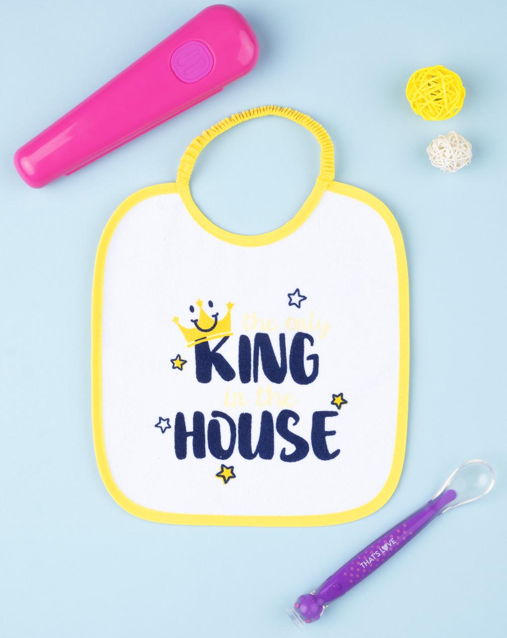 """Bavaglino boy """"the only king og the house"""" - Prénatal"""