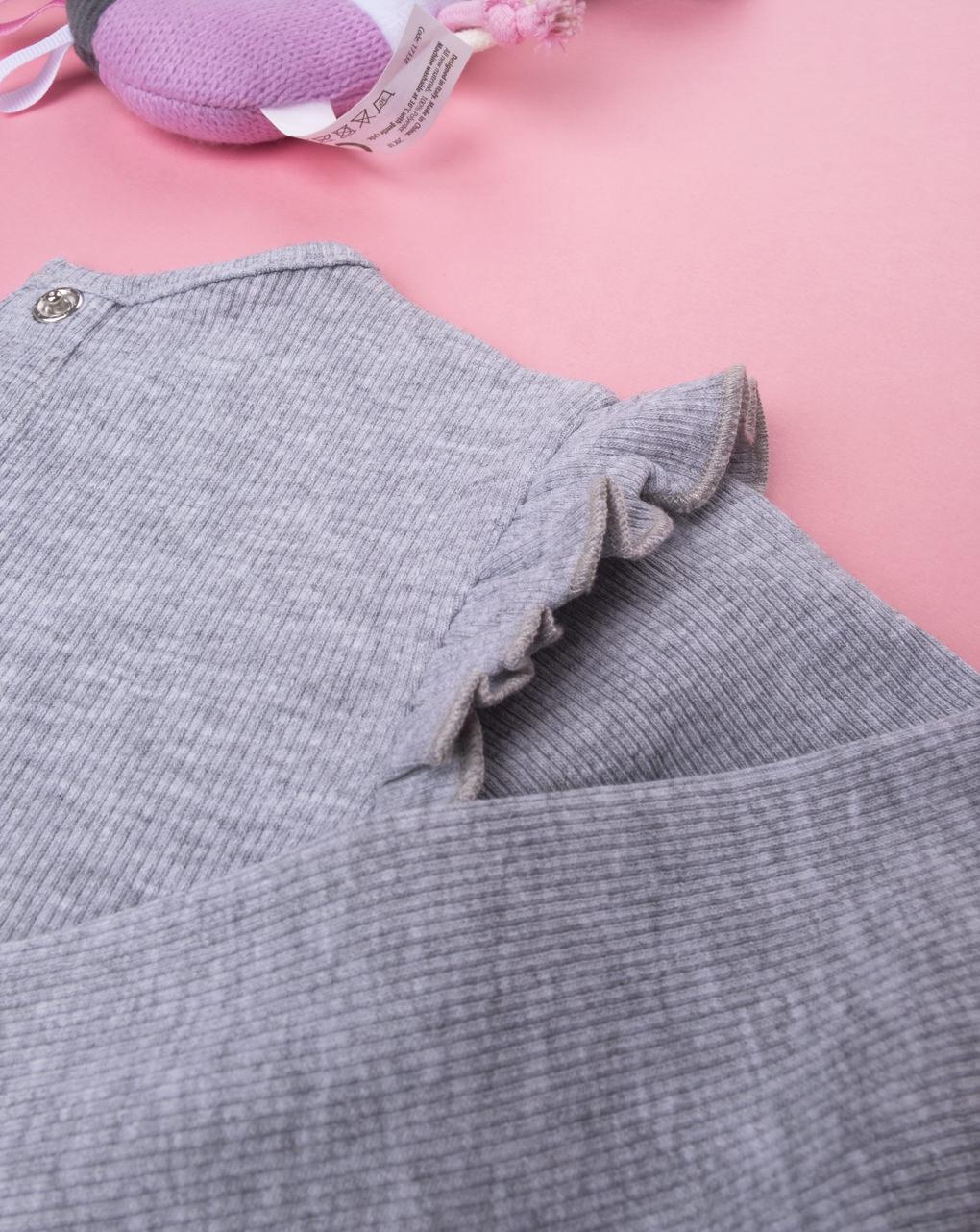 Body girl costina grey - Prénatal