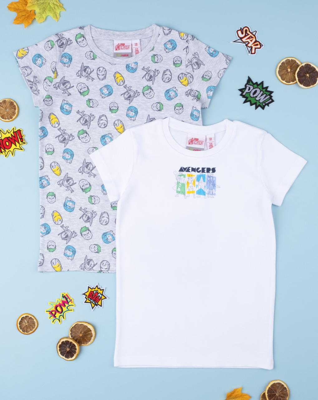 """Pack 2 t-shirt intime boy """"avangers"""" - Prénatal"""