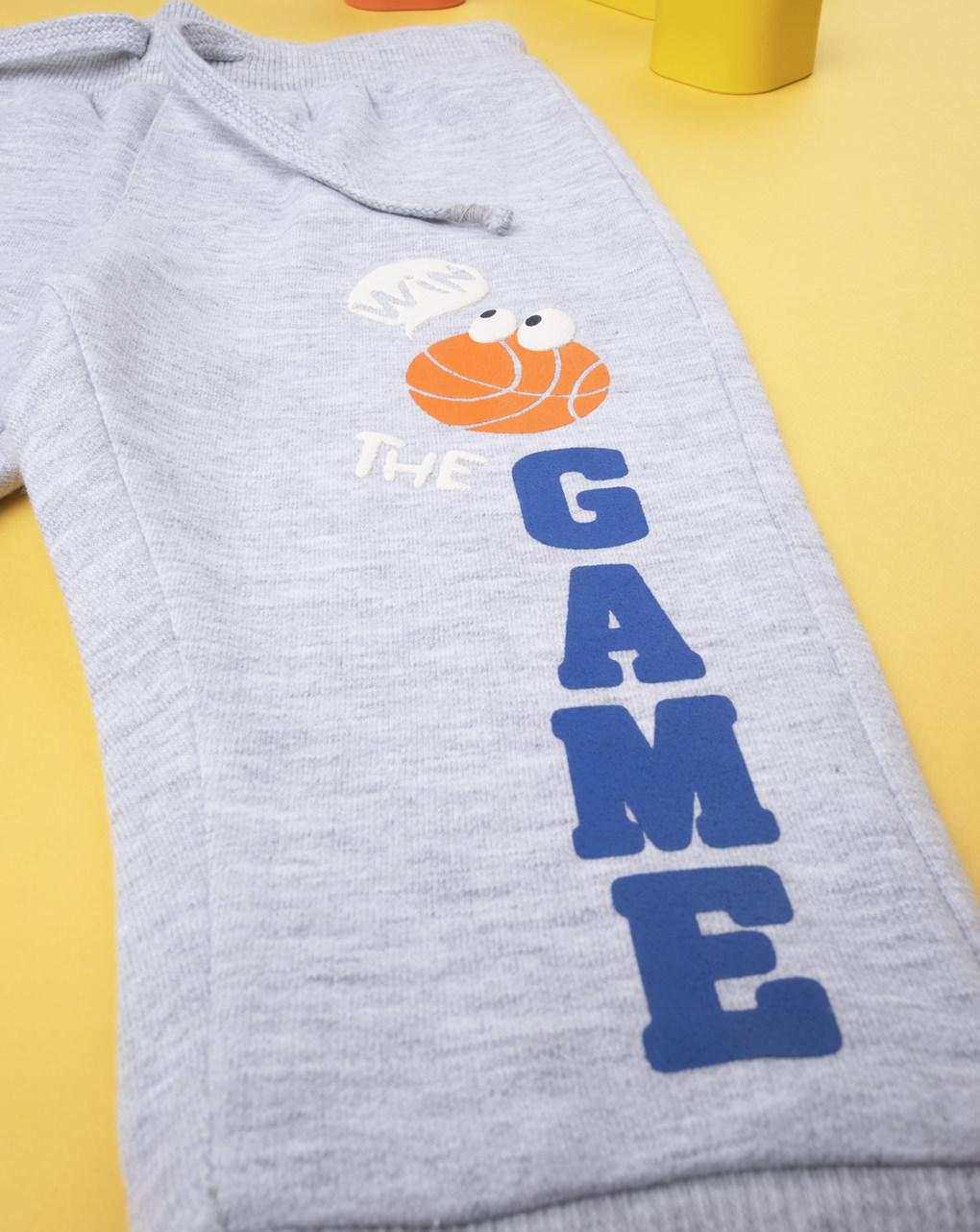 "Pantalone felpato ""the game"" - Prénatal"