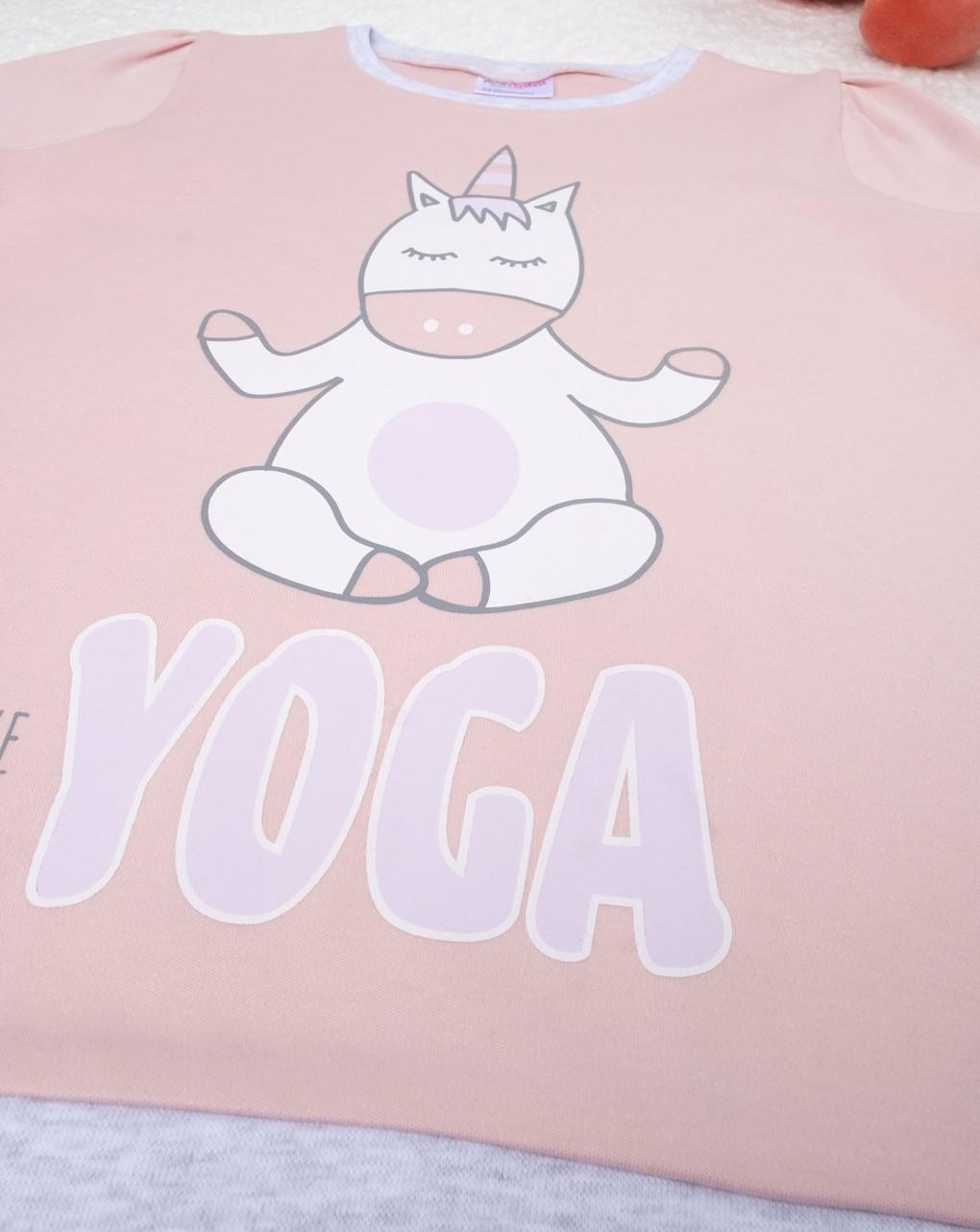 """Pigiama girl """"yoga"""" - Prénatal"""