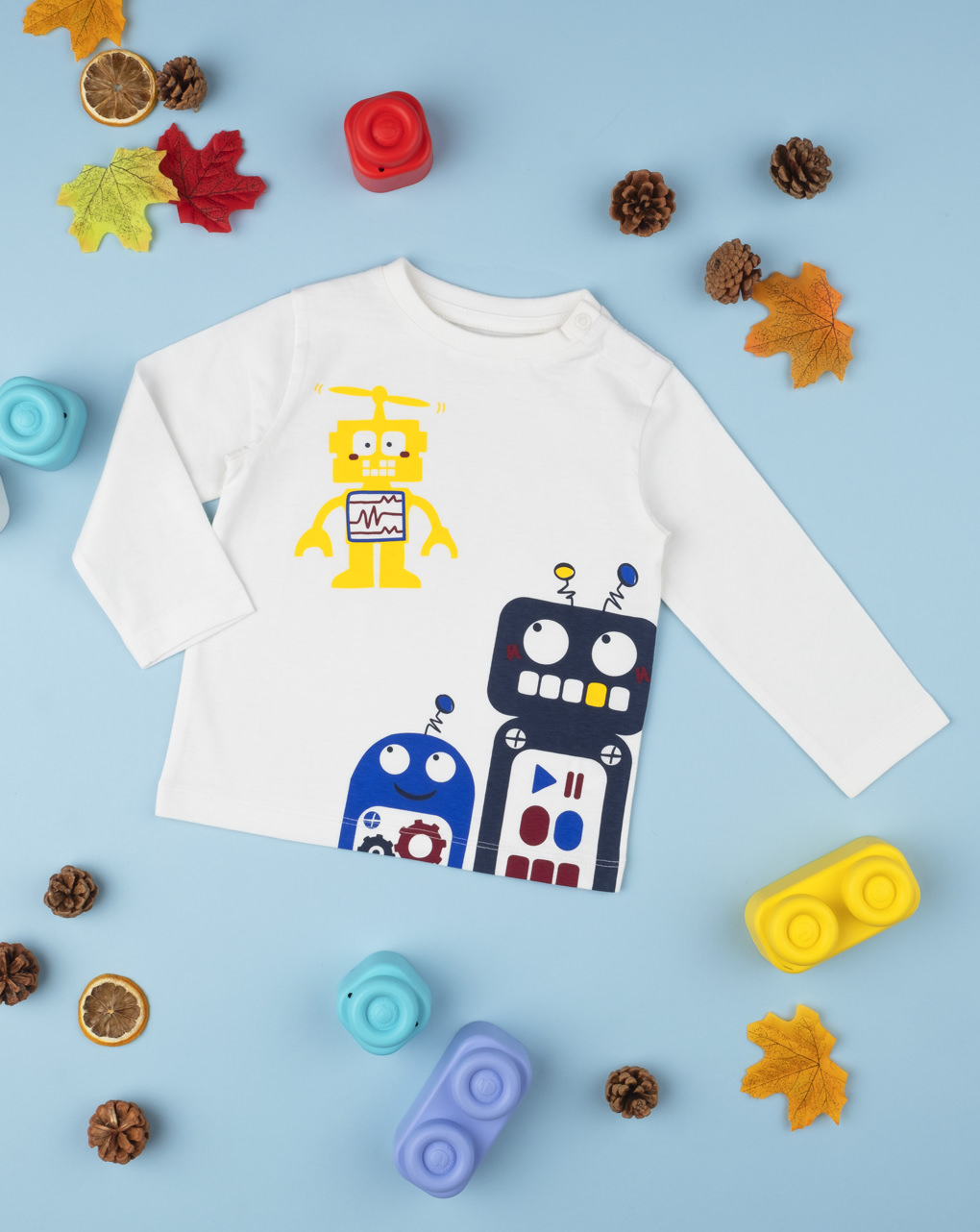 """T-shirt boy """"robot"""" - Prénatal"""