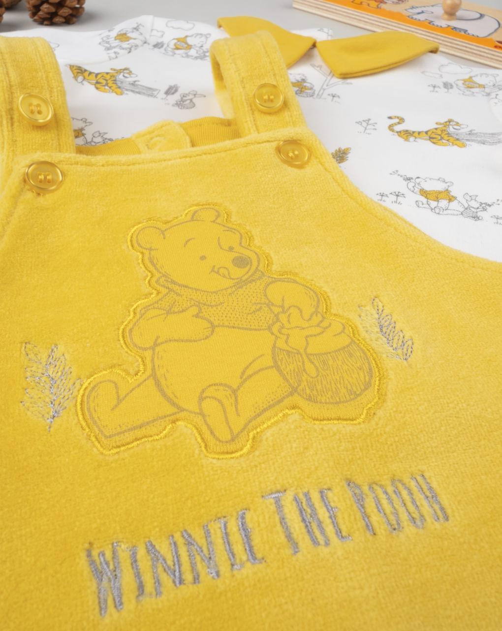 """Completo boy """"salopette winnie the pooh"""" - Prénatal"""