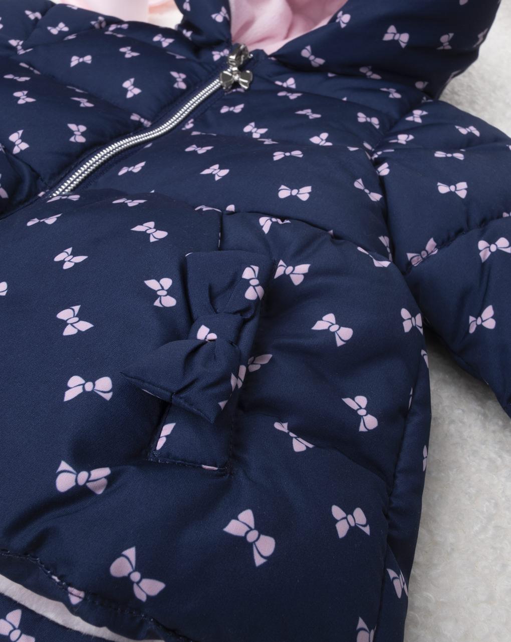 Giubbino girl blu & pink - Prénatal