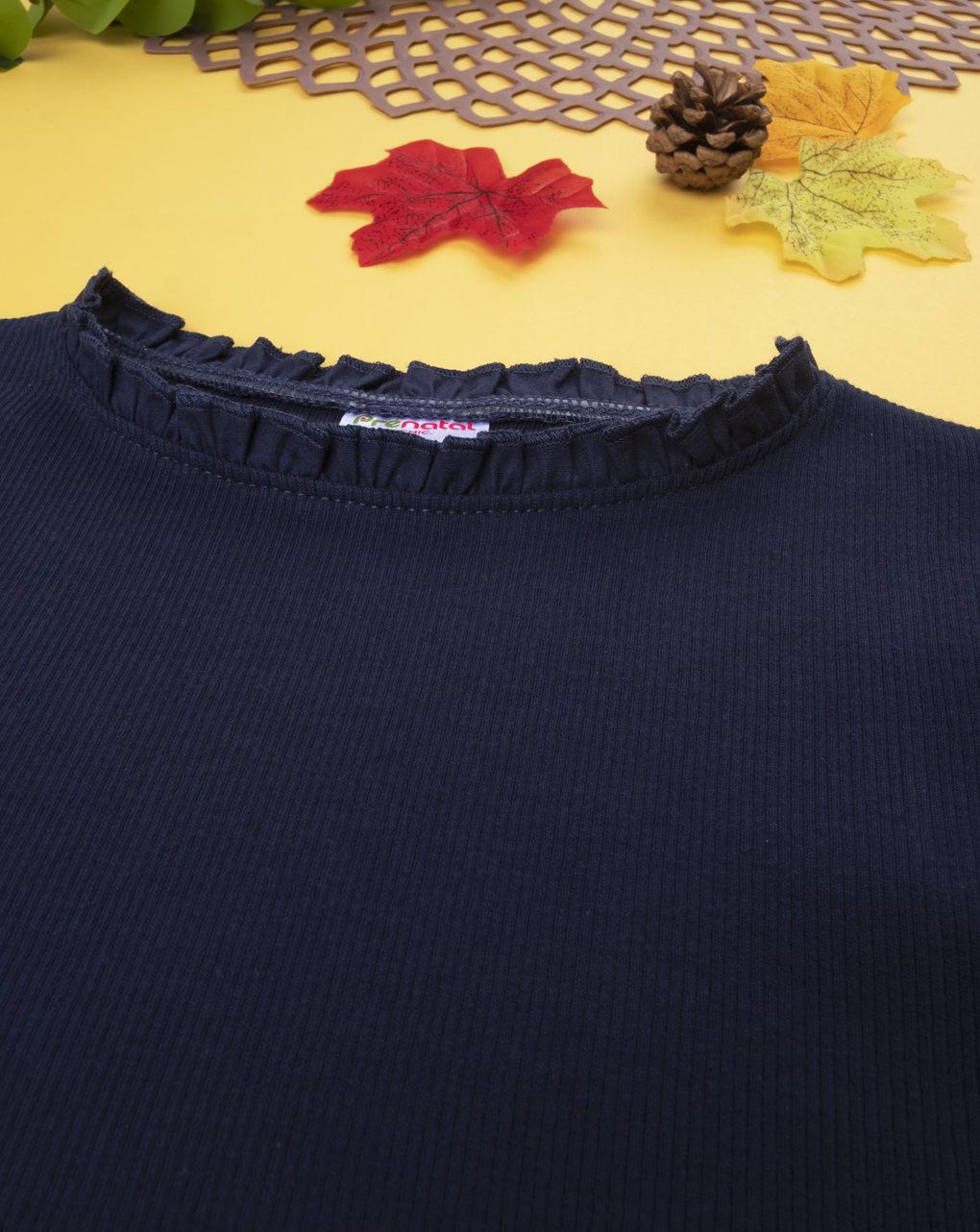 T-shirt girl costina blu - Prénatal
