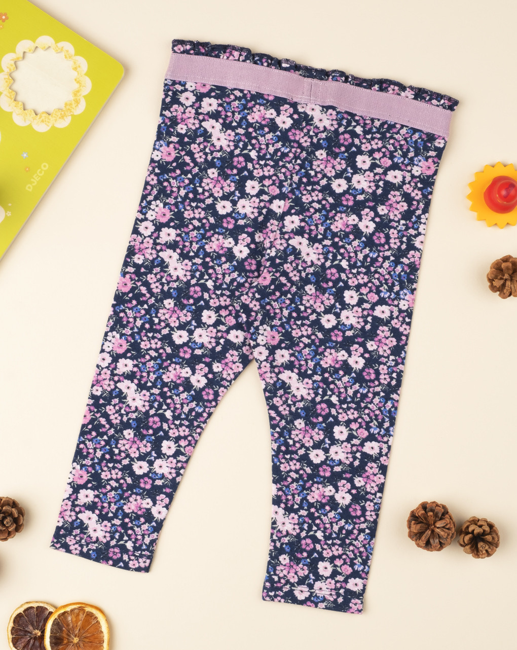 Leggings flower lilla - Prénatal