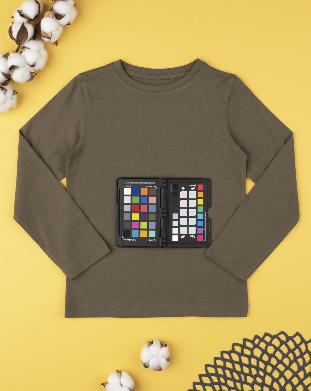T-shirt tinta unita marrone - Prénatal