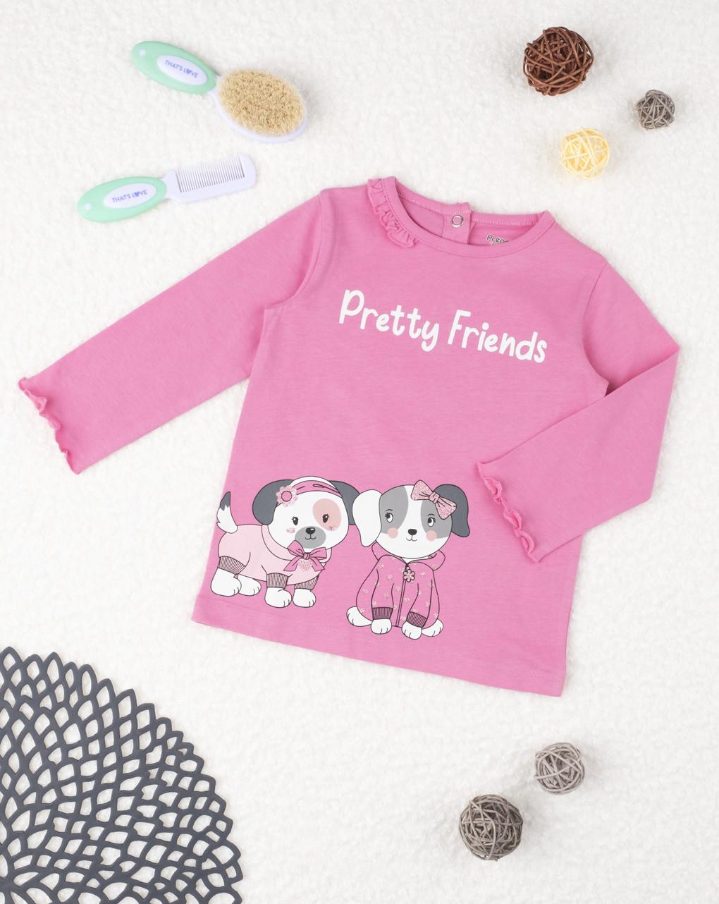 """T-shirt girl """"pretty friends"""" - Prénatal"""