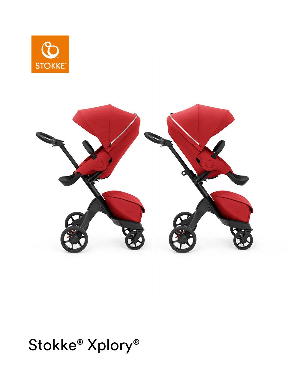 Stokke®  xplory® xdesign unico per avvicinarti al tuo bambino - Stokke