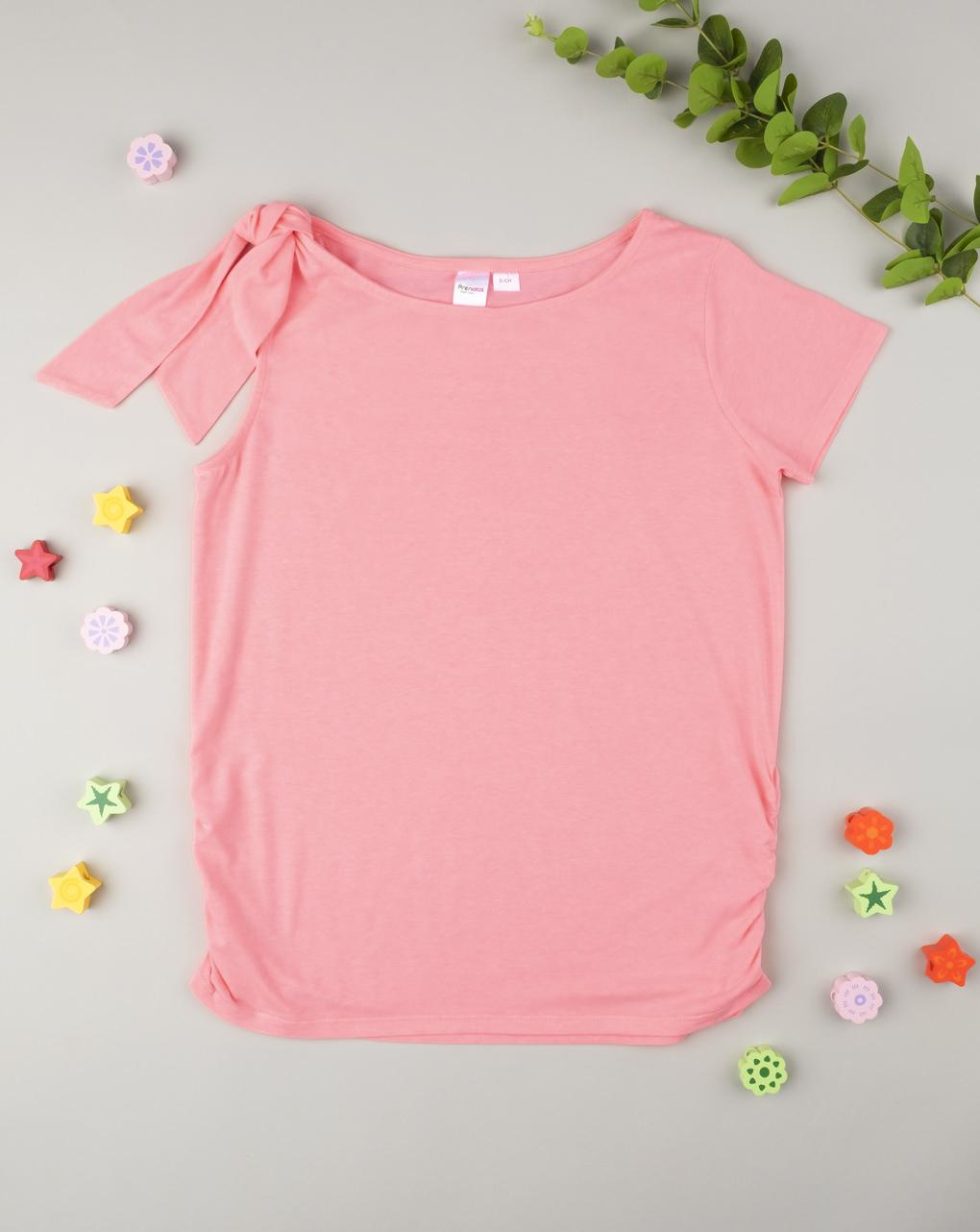 T-shirt con nodo pink - Prénatal