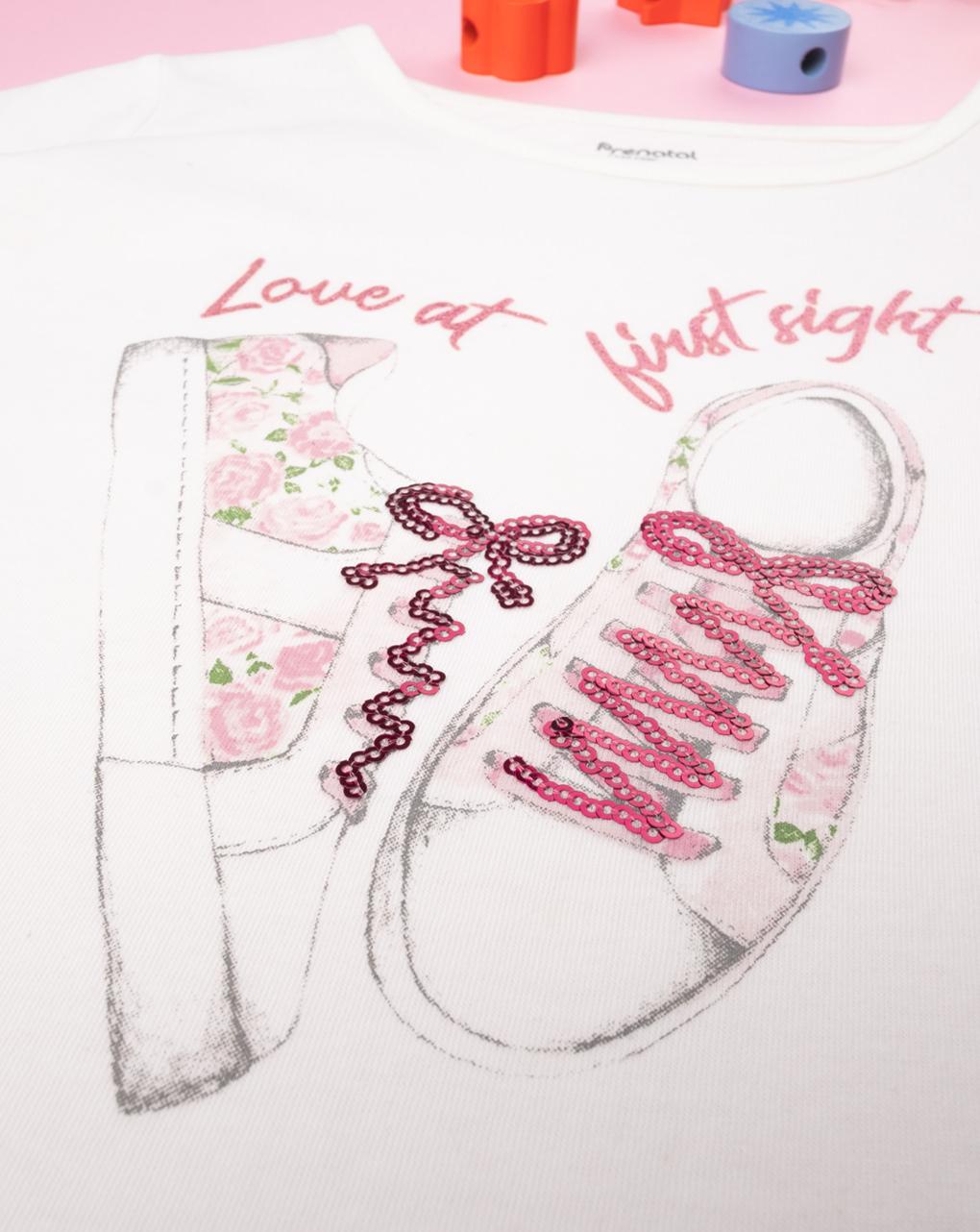 "T-shirt girl ""sneakers"" - Prénatal"