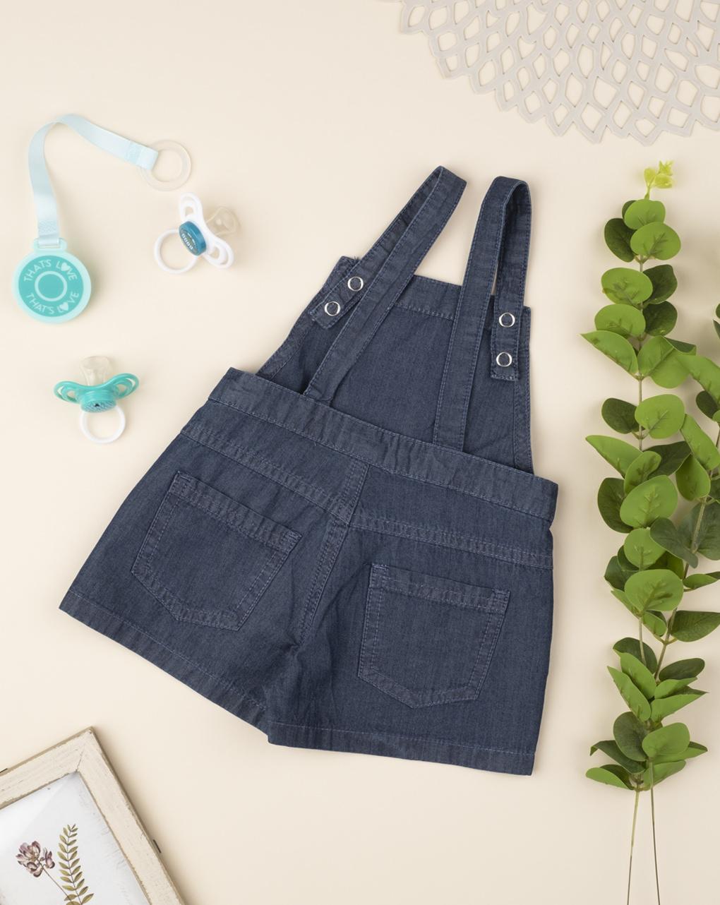 Salopette jeans girl - Prénatal