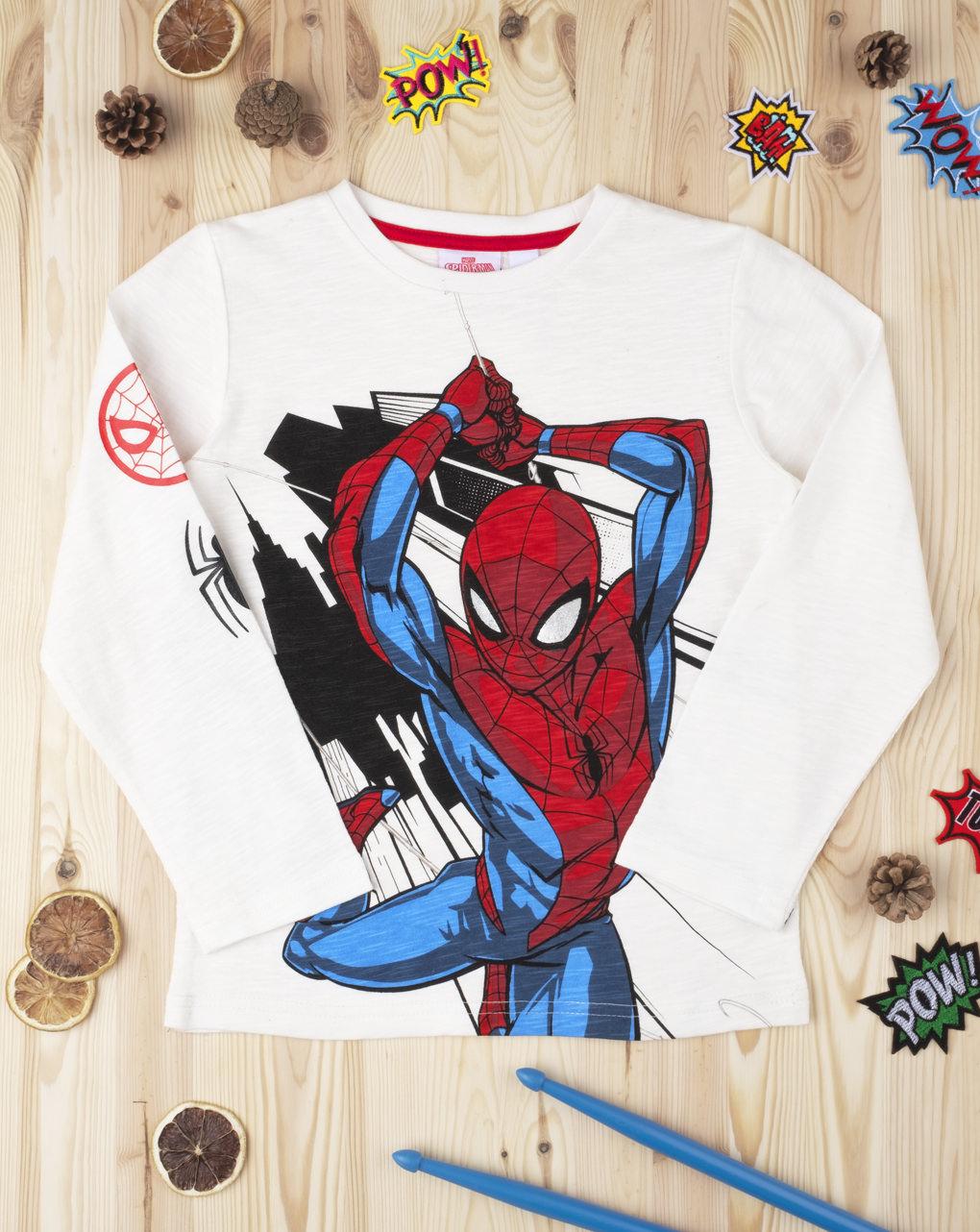 "T-shirt boy ""spiderman"" - Prénatal"
