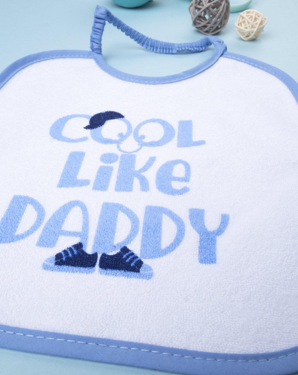 """Bavaglino boy """"cool like daddy"""" - Prénatal"""