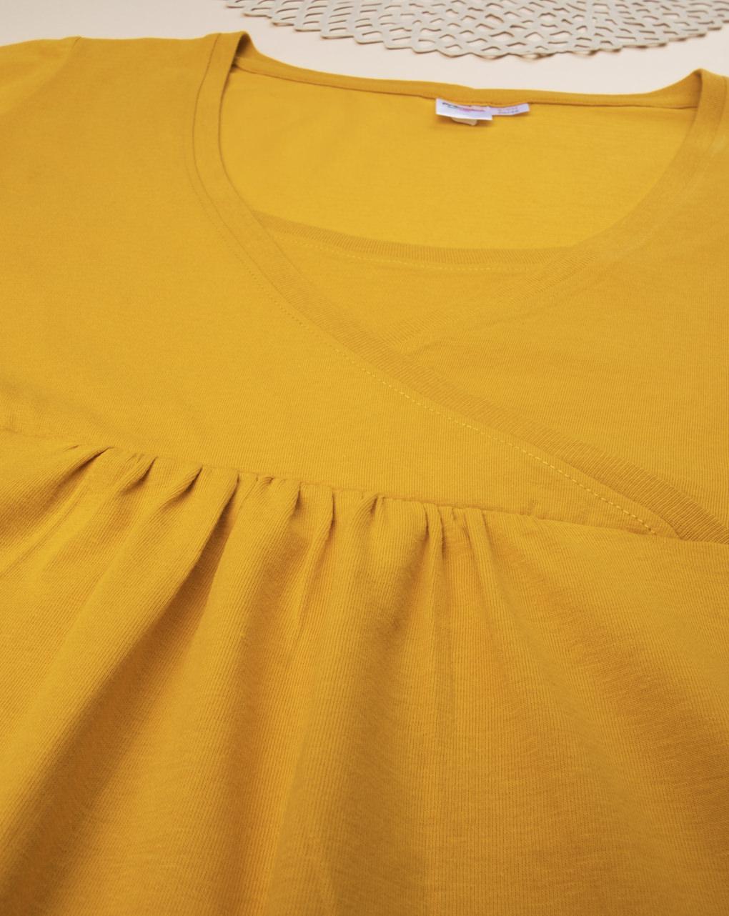 T-shirt allattamento yellow - Prénatal