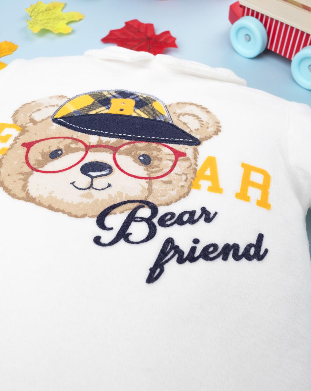 """Completo boy """"bear friend"""" - Prénatal"""